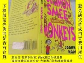 二手書博民逛書店solomon罕見smee monkeys所羅門猴子Y200392