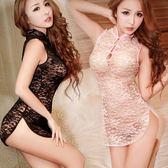 性感情趣內衣女式真人風騷制服女傭透明蕾絲旗袍套裝誘惑