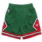 MITCHELL & NESS M&N 芝加哥 公牛 聖派翠克綠 紅 短褲 復古 球褲 (布魯克林) MNSWSG206H