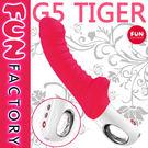 按摩棒 德國Fun Factory.G5 Tiger 五代小霸王泰格G點按摩棒-彩虹情趣用品【免運86折】