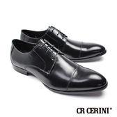 【CR Cerini】橫飾德比鞋 經典黑(73331-BL)