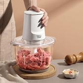 絞肉機 絞肉機家用電動小型攪拌餃餡料理機打蒜泥絞蔬菜切碎肉末器【快速出貨八折優惠】