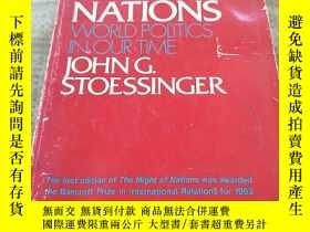 二手書博民逛書店THE罕見MIGHTOF NATIONS: WORLD POLI