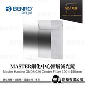 【CENTER】BENRO 百諾 鋼化中心漸層減光鏡 Master Harden GND 8 (0.9) Center 150x100mm《公司貨》
