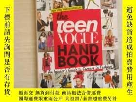 二手書博民逛書店The罕見Teen Vogue Handbook【522】Y28