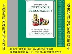 二手書博民逛書店Who罕見Are You? Test Your Personality (Know Yourself)-你是誰?測