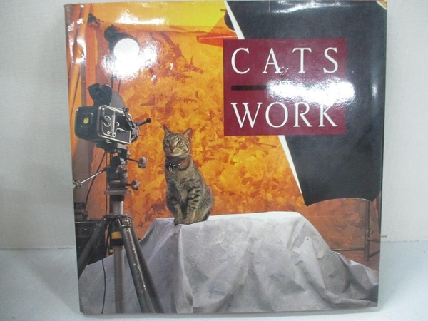 【書寶二手書T1/原文小說_BN7】Cats at Work_Gray, Rhonda/ Robinson, Stephen T.