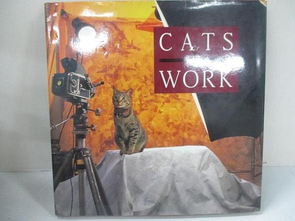 【書寶二手書T6/原文小說_BN7】Cats at Work_Gray, Rhonda/ Robinson, Stephen T.