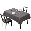 桌墊 桌布防水防油免洗布藝棉麻北歐簡約茶幾長方形臺布餐桌布網紅桌墊JD計書 618狂歡