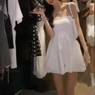 連體裙褲 小衣櫥管家2021夏季新款法式氣質連身裙女性感百搭抹胸連體褲裙 交換禮物