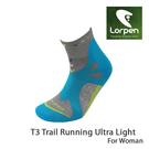 Lorpen T3 女運動慢跑襪 X3UW/城市綠洲(吸濕排汗、快乾涼爽、柔軟舒適、萊卡、彈性耐用、西班牙)