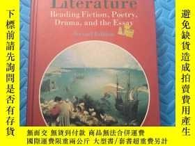 二手書博民逛書店literature罕見reading fiction,poetry,drama,and the essay(文學