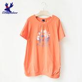 American Bluedeer-花朵小鹿上衣