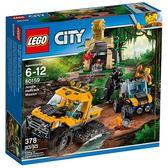 【LEGO 樂高積木】CITY 城市系列-叢林履帶卡車 LT-60159