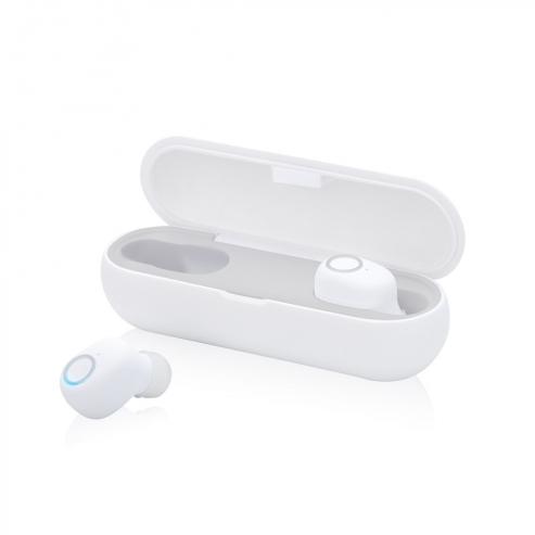 真無線美學藍牙5.0耳機 白