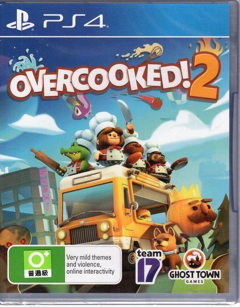 現貨中 PS4 遊戲 煮過頭 2 Overcooked 2 簡中英文版【玩樂小熊】