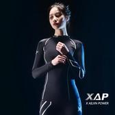 壓縮衣女運動健身服秋冬訓練瑜伽長袖跑步速干高彈力籃球緊身上衣 錢夫人