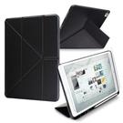 Xmart for 2020 iPad 10.2吋 典雅時尚帶筆槽Y折牛皮皮套+搭配專用玻璃組合