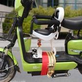 電瓶車寶寶座椅前置電動摩托車自行車踏板車嬰兒小孩兒童座椅減震