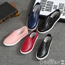 雨鞋短 韓國淺口雨鞋女時尚成人低幫短筒防滑防水鞋廚房工作膠鞋情侶夏季 爾碩