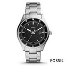 FOSSIL 歐美酷黑百搭手錶(FS55...