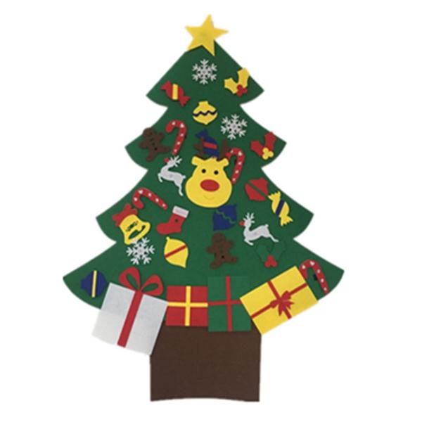 新款聖誕節 兒童手工益智DIY 立體手工 不織布 聖誕樹【H81134】