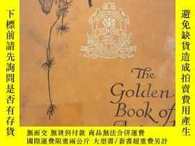二手書博民逛書店The罕見Golden Book of Animal Stori