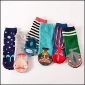 現貨+快速★可愛深海魚復古日系中筒短襪棉襪子純棉襪★ifairies【29497】