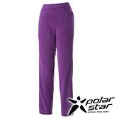 PolarStar 女 刷毛保暖長褲 『葡萄紫』P15422