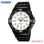 CASIO 經典潛水風防水膠帶錶 MRW-200H-7E 學生錶 當兵軍用 公司貨   名人鐘錶