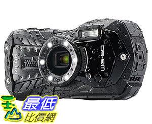 "[107美國直購] 攝像機 Ricoh 16 Waterproof Still/Video Camera Digital with 2.7"" LCD, Black (WG-50 black)"