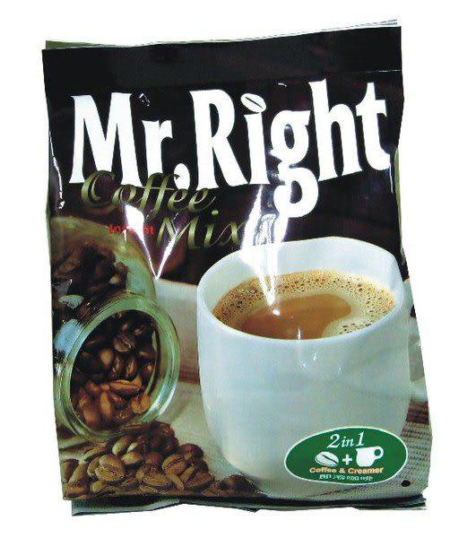 Mr.Right三合一咖啡35g*15入每箱(12包)只要1800元