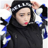 韓運動針織毛線彈力寬發帶發箍潮男女頭飾發飾 免運直出