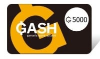 【遊戲點數卡 可刷卡】☆ GASH樂點 GASH 5000點 ☆【營業時間內可立即發送序號】