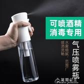 酒精噴霧器-高壓噴霧瓶酒精消毒化妝補水超細細霧霧化噴瓶空瓶按壓稀釋小噴壺 花間公主 YYS