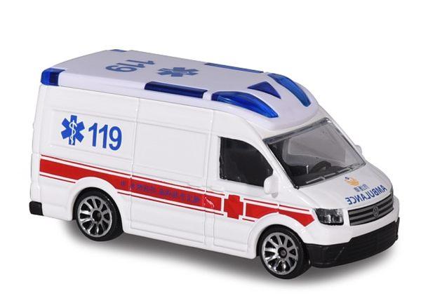 Majorette 美捷輪國際款 台灣限定版 福斯 VW T5 台北市消防局救護車 TOYeGO 玩具e哥