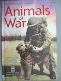 【書寶二手書T6/原文小說_JML】Animals At War_Isabel George, Rob Lloyd Jo