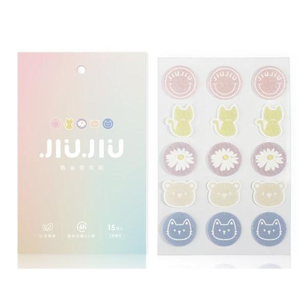 【2件$149】親親 JIUJIU 精油香氛貼(15枚入)【小三美日】