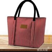 便當袋飯盒袋防水拉鍊手提便當包卡通媽咪包大號帶飯包學生小方包拎包(中秋禮物)