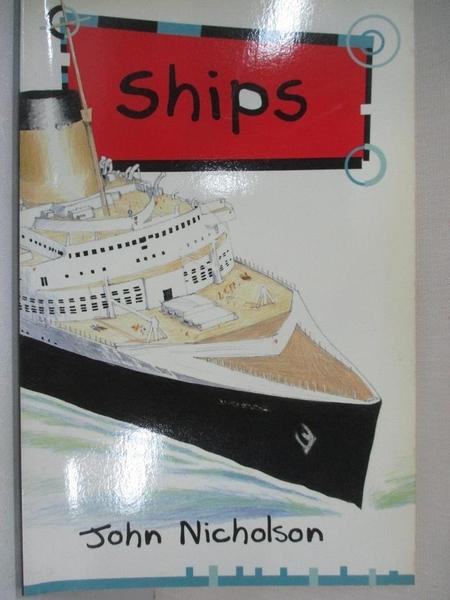 【書寶二手書T8/兒童文學_GIG】Solo Transport: Ships