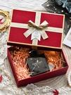 禮物盒 伴手禮盒紅色婚慶禮品包裝盒大號口紅禮品盒空盒子回禮新年禮物盒【快速出貨八折下殺】