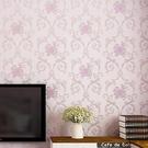 自黏壁紙溫馨田園臥室牆貼紙歐式3d立體客...
