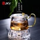 耐熱玻璃煮茶壺電陶爐煮茶器過濾沖茶器蠟燭...