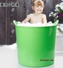 泡澡桶 加厚超大號浴桶 兒童洗澡桶 寶寶浴盆 嬰兒沐浴桶泡澡桶澡盆游泳 JD CY潮流