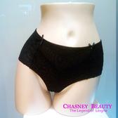 Chasney Beauty-Twist麻辮S蕾絲高腰包褲(黑)