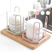 北歐八角形瀝水碗筷架 碗架 置物架 瀝水架 廚房收納用品