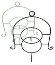 德國IHR居家生活系列-兩層蛋糕盤架(共兩色可選)