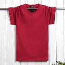 大尺碼 純色短袖T恤 加肥加大男 寬鬆正韓純棉半袖潮男新版  快速出貨