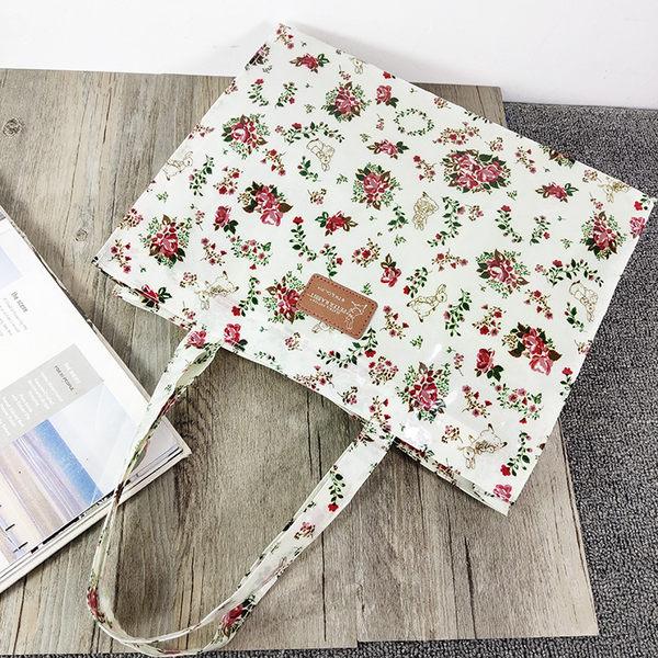 《花花創意会社》英國Peter花柄防水購物方包【H6520】