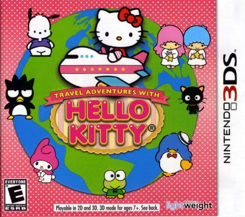 3DS Travel Adventures with Hello Kitty 3DS 旅行與探險的 Hello Kitty 3DS(美版代購)